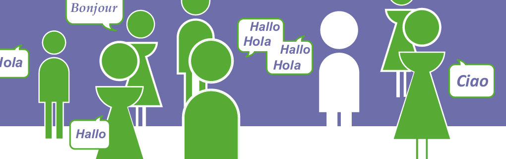 Teile deine Sprache mit Leuten, die ihre Sprache mit dir teilen möchten - via TalkingP2P.
