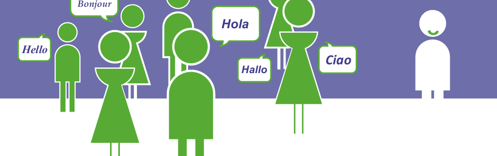 Vous pouvez avoir besoin de pratiquer cet «autre» langue avec des locuteurs natifs.