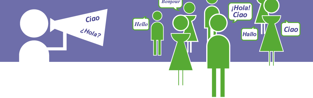 Ci sono molte persone in altri paesi che parlano la tua lingua ed hanno bisogno di esercitarla.